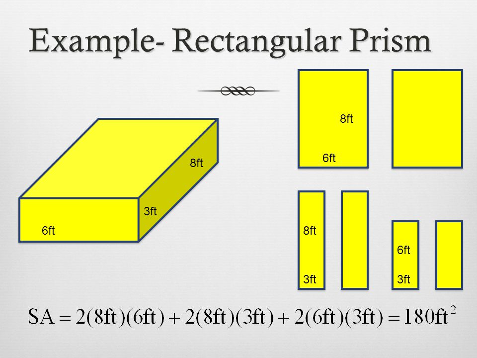 Example- Rectangular Prism