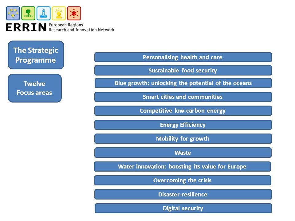 The Strategic Programme