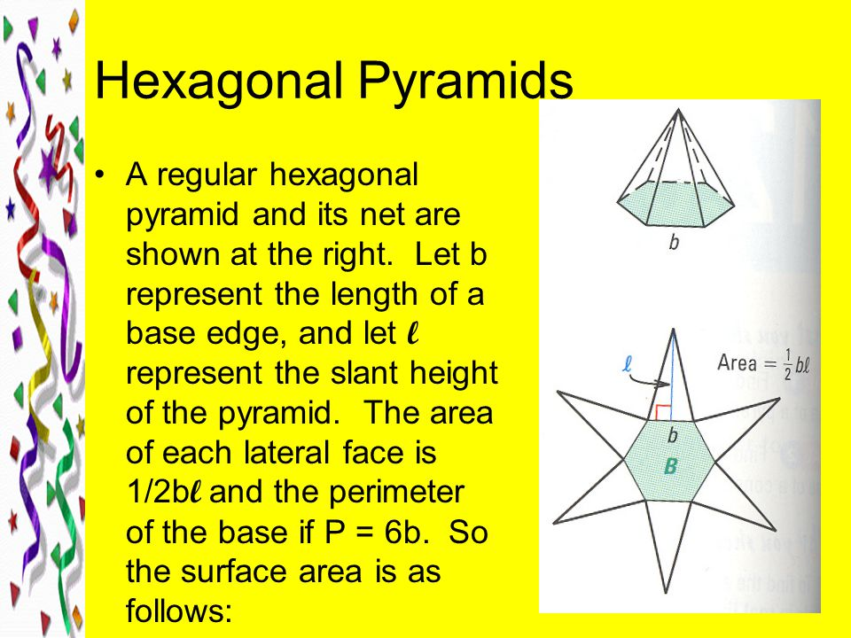 Hexagonal Pyramids