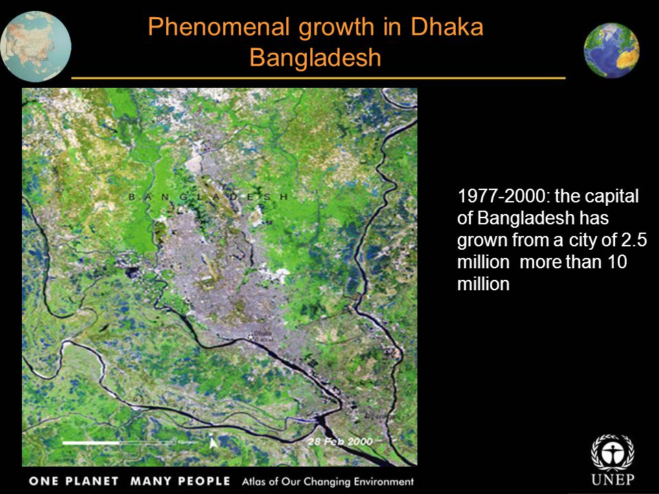 Phenomenal growth in Dhaka Bangladesh