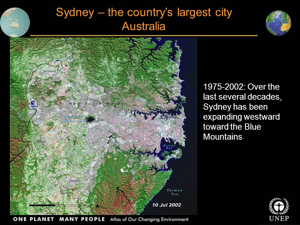 Sydney – the country's largest city Australia