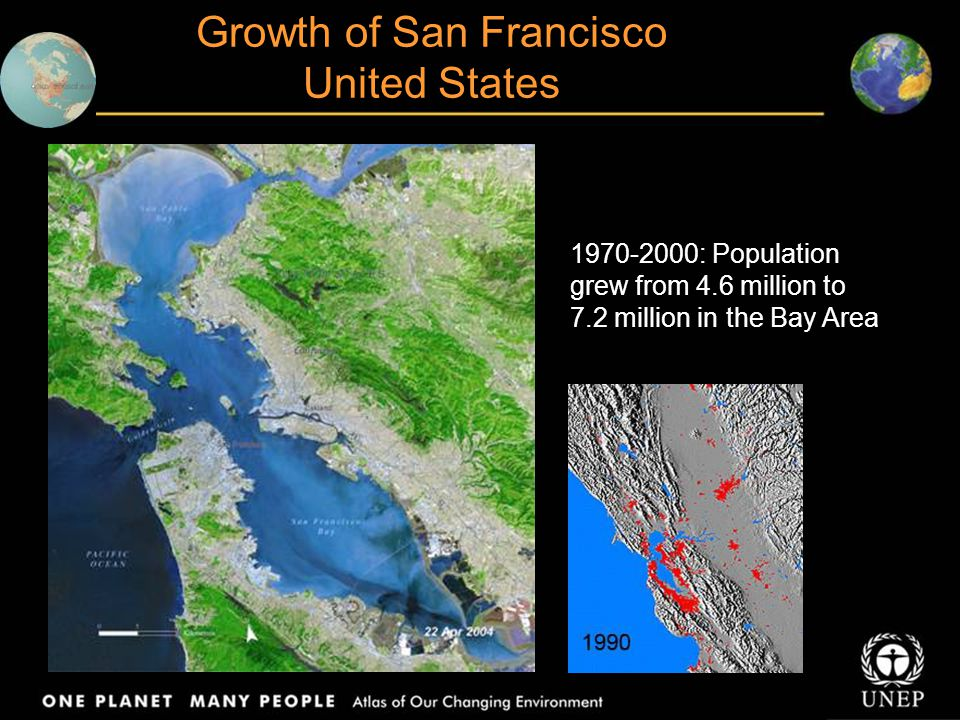 Growth of San Francisco United States