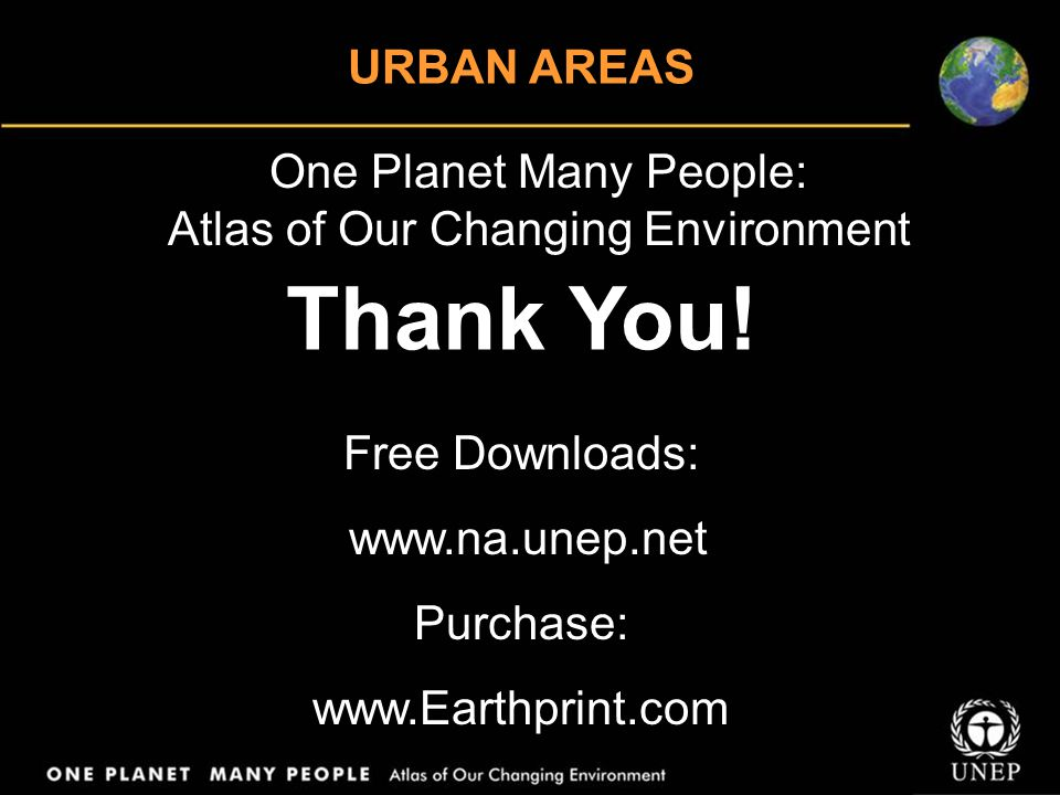 One Planet Many People: Atlas of Our Changing Environment