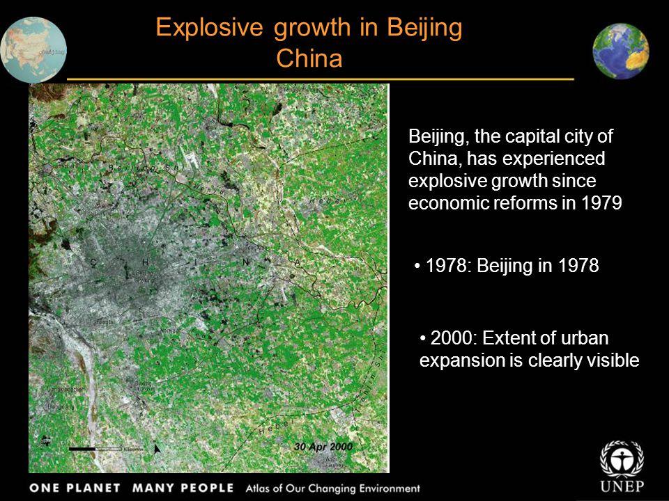 Explosive growth in Beijing China