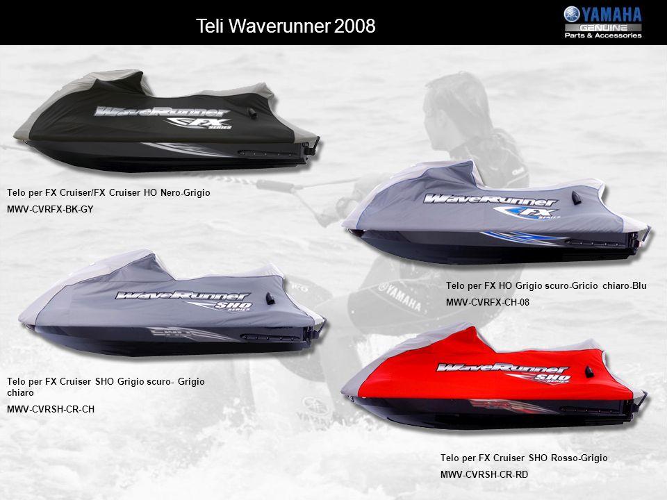 Teli Waverunner 2008 Telo per FX Cruiser/FX Cruiser HO Nero-Grigio
