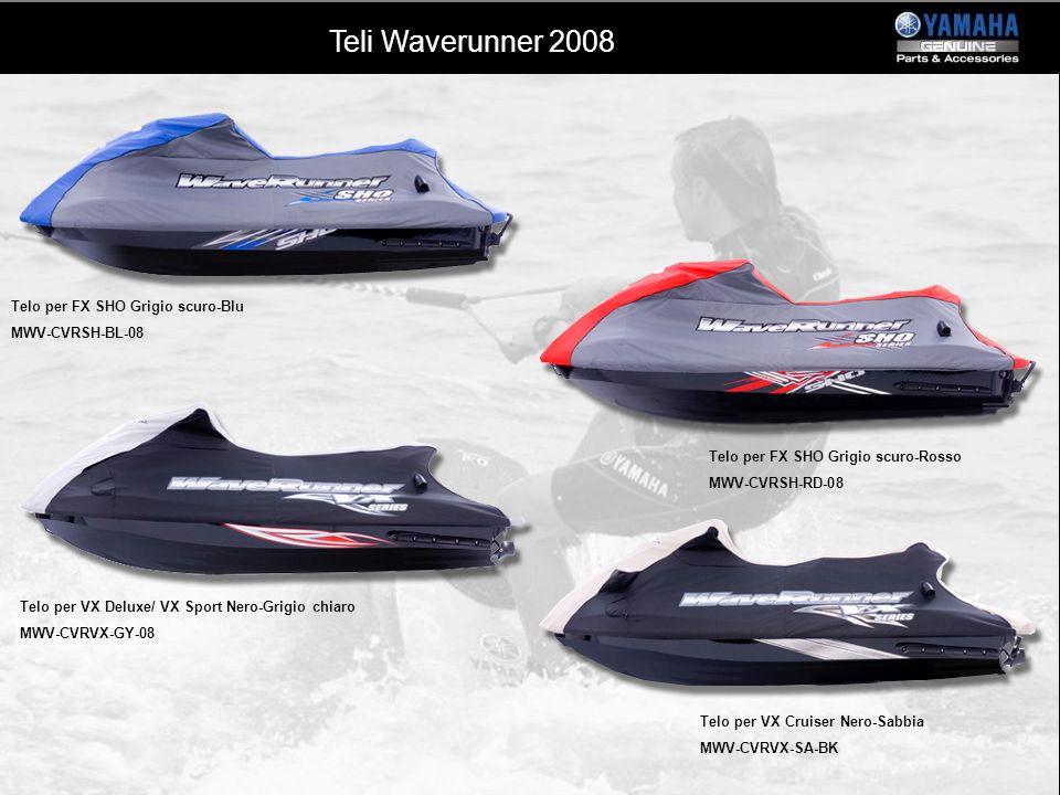 Teli Waverunner 2008 Telo per FX SHO Grigio scuro-Blu MWV-CVRSH-BL-08
