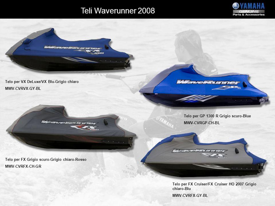 Teli Waverunner 2008 Telo per VX DeLuxe/VX Blu-Grigio chiaro