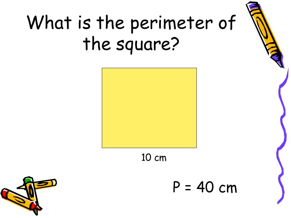 What is the perimeter of the square