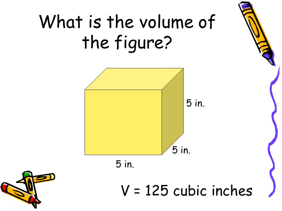 What is the volume of the figure