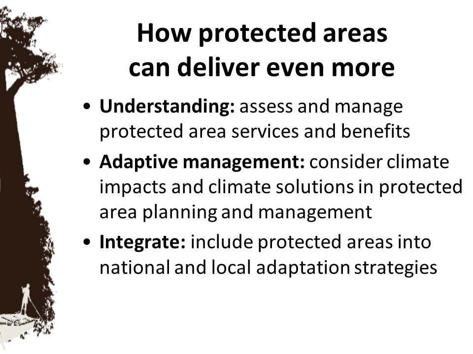 How protected areas can deliver even more