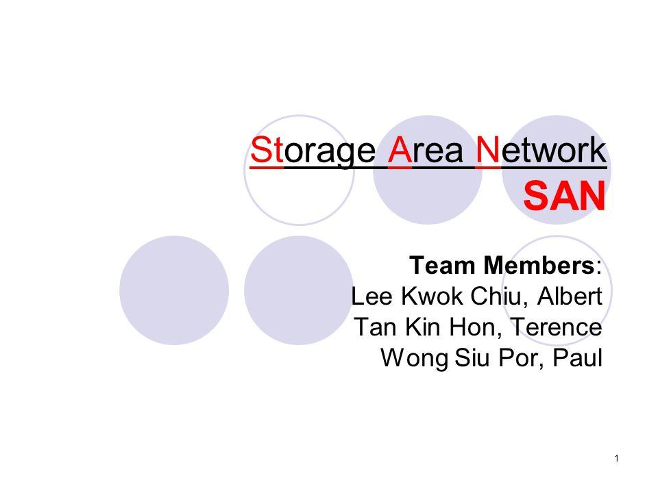 Storage Area Network SAN