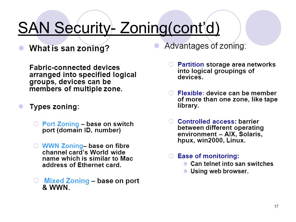 SAN Security- Zoning(cont'd)