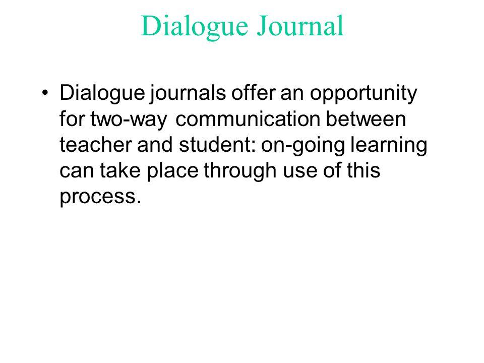 Dialogue Journal