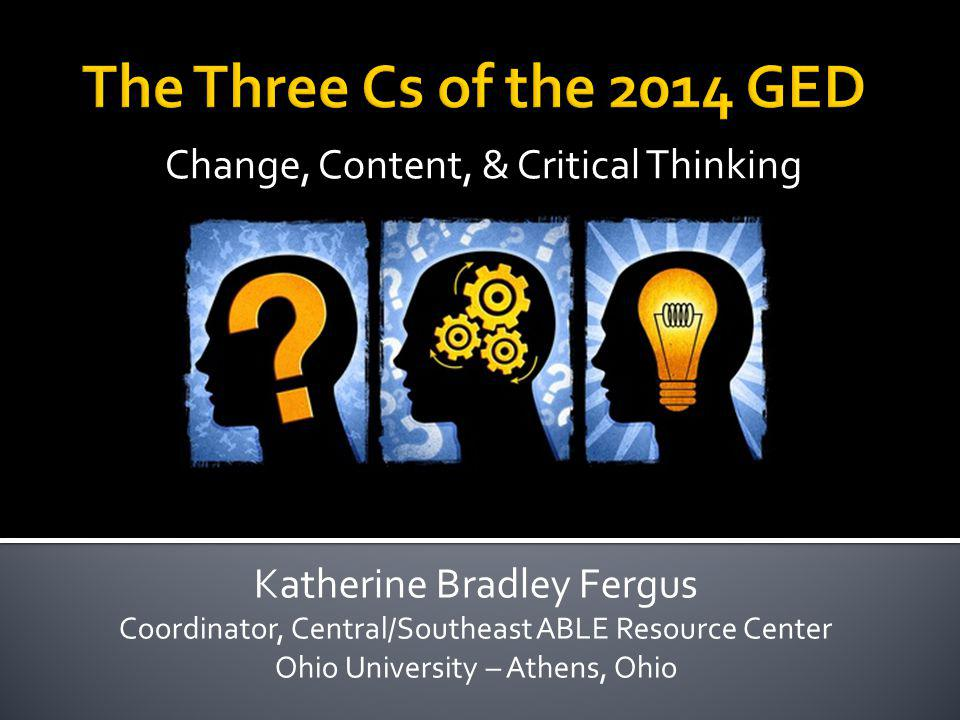 Change, Content, & Critical Thinking