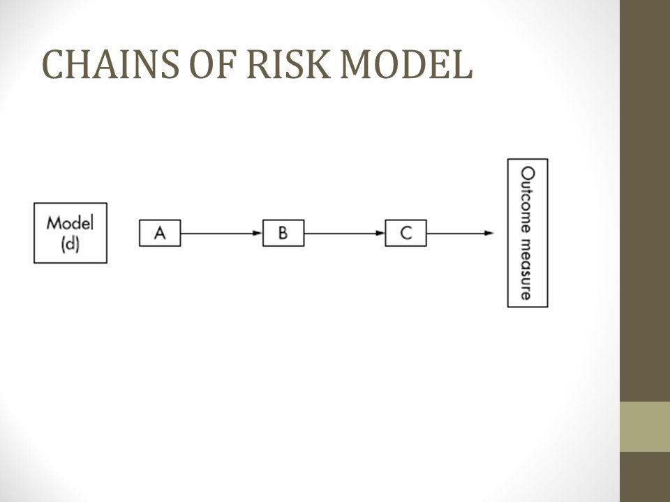 CHAINS OF RISK MODEL