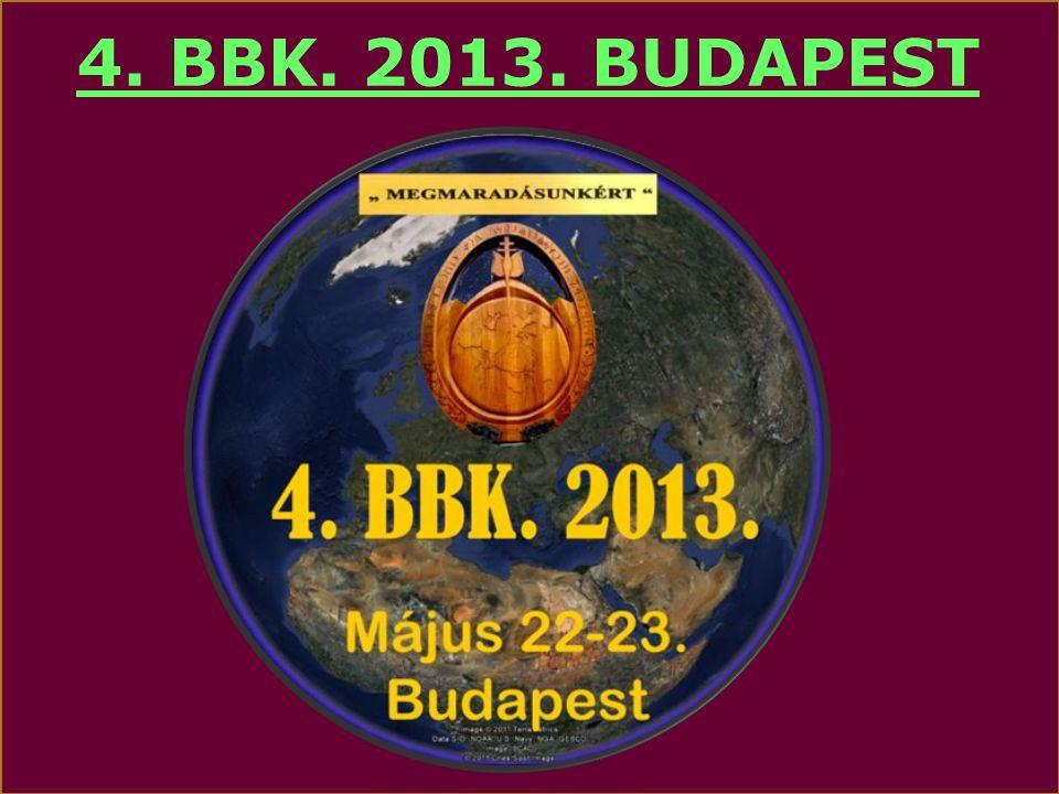 4. BBK. 2013. BUDAPEST