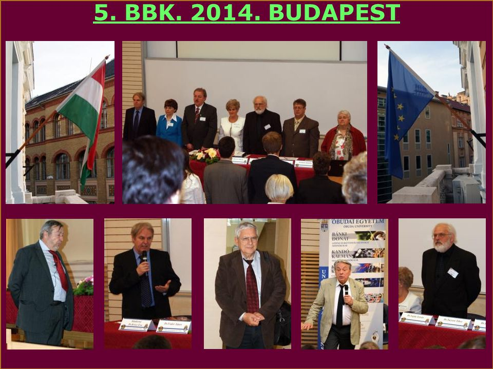 5. BBK. 2014. BUDAPEST