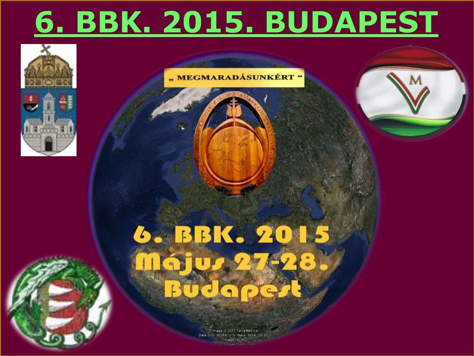 6. BBK. 2015. BUDAPEST