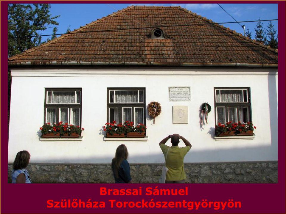 Brassai Sámuel Szülőháza Torockószentgyörgyön