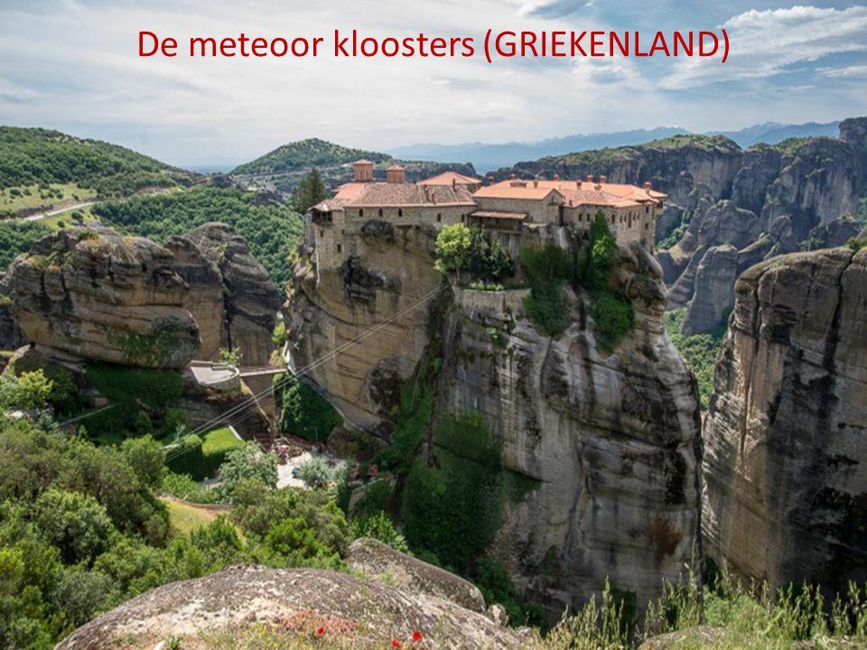 De meteoor kloosters (GRIEKENLAND)