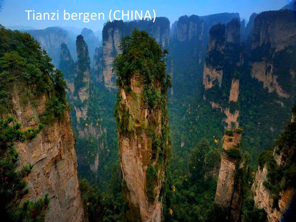 Tianzi bergen (CHINA)