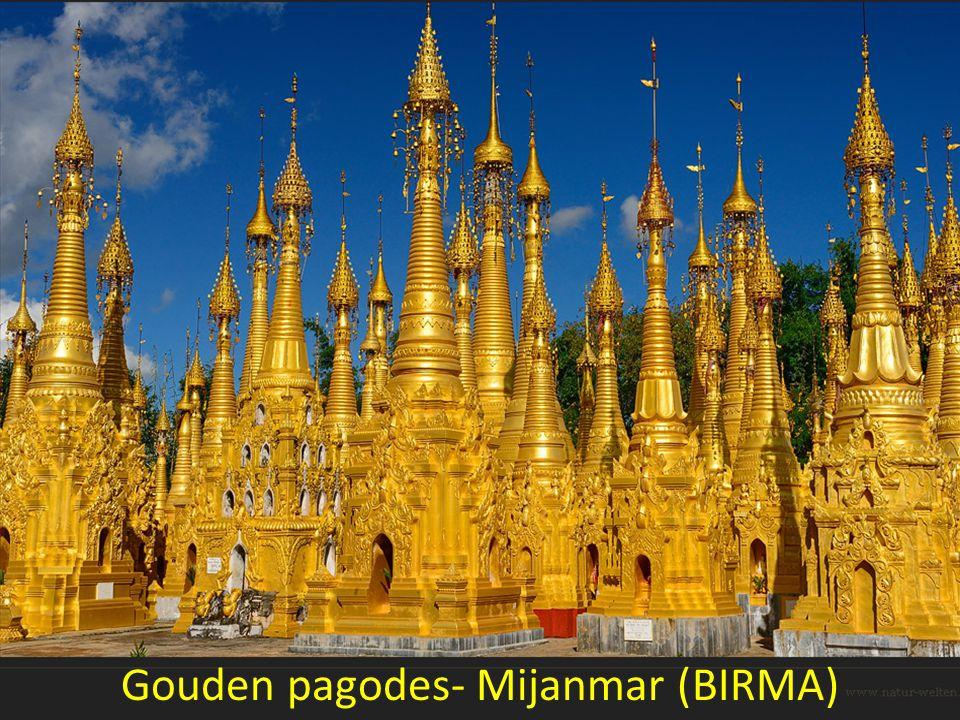 Gouden pagodes- Mijanmar (BIRMA)