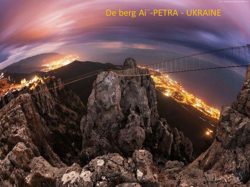De berg Ai¨-PETRA - UKRAINE