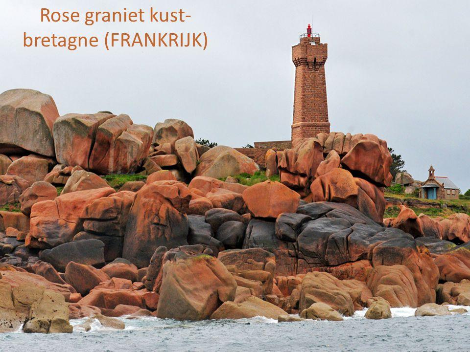 Rose graniet kust- bretagne (FRANKRIJK)