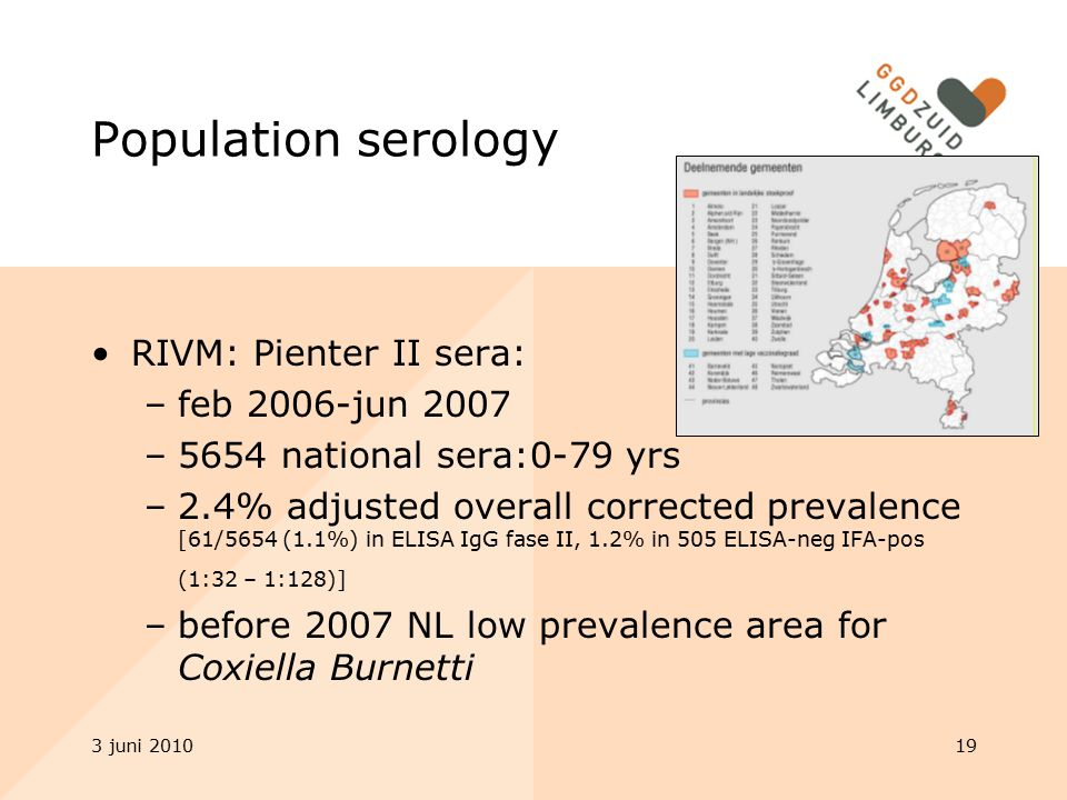 Population serology RIVM: Pienter II sera: feb 2006-jun 2007