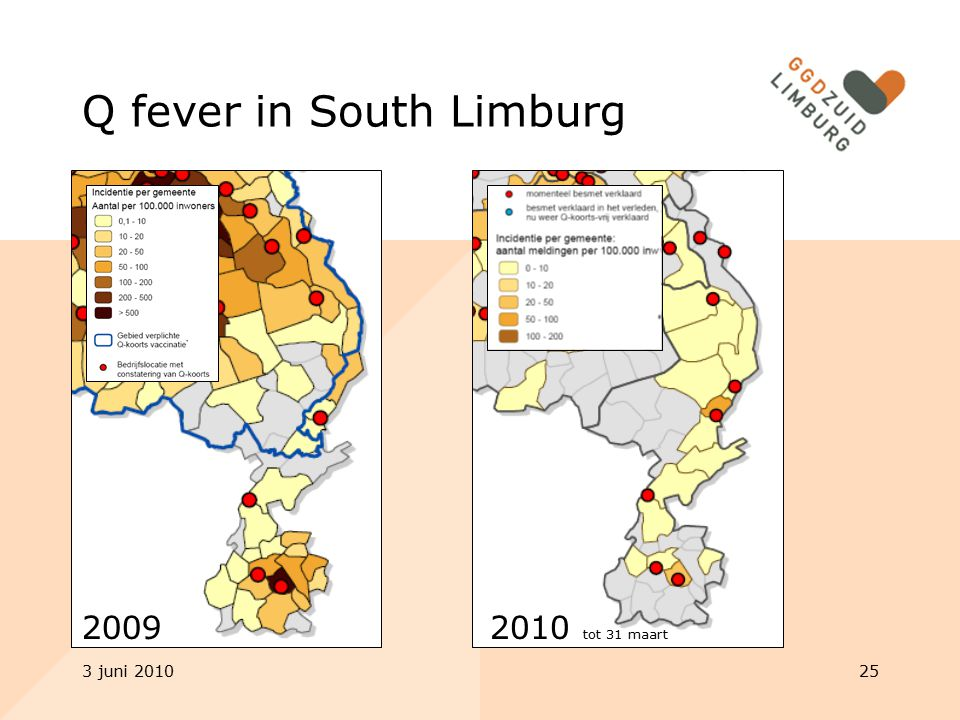 Q fever in South Limburg