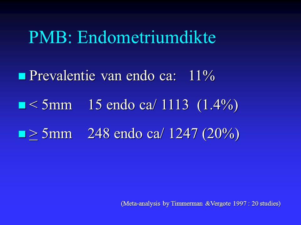 PMB: Endometriumdikte