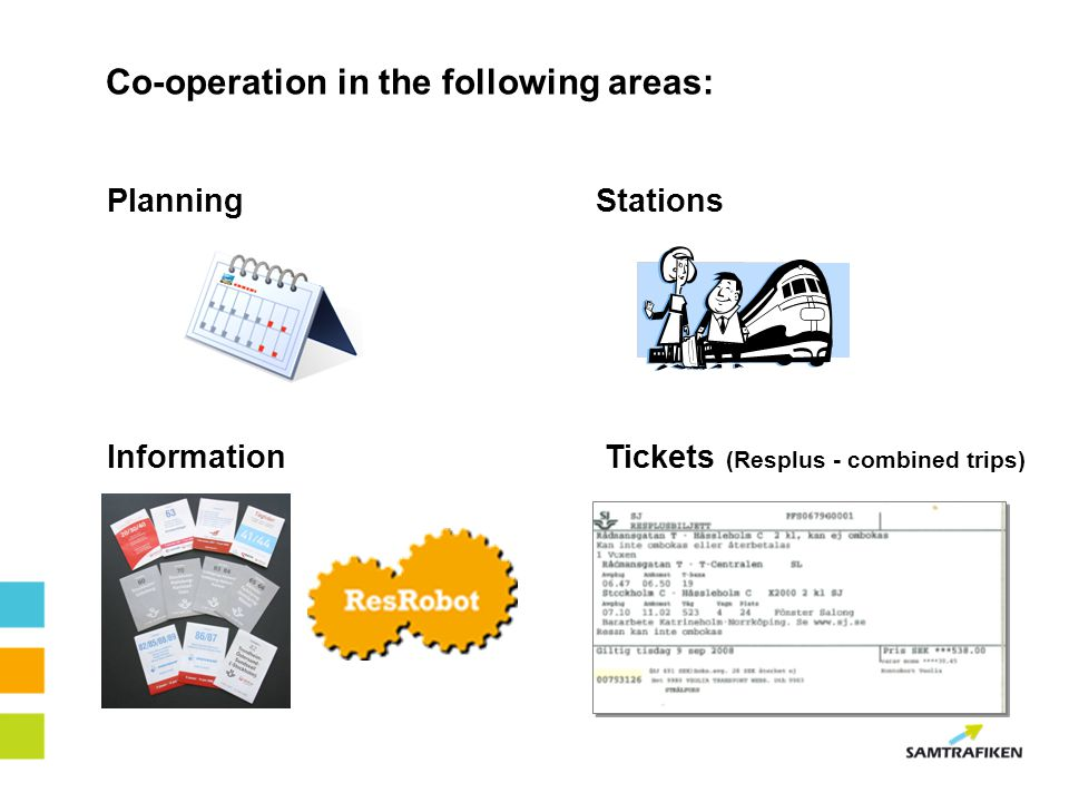 Co-operation in the following areas: