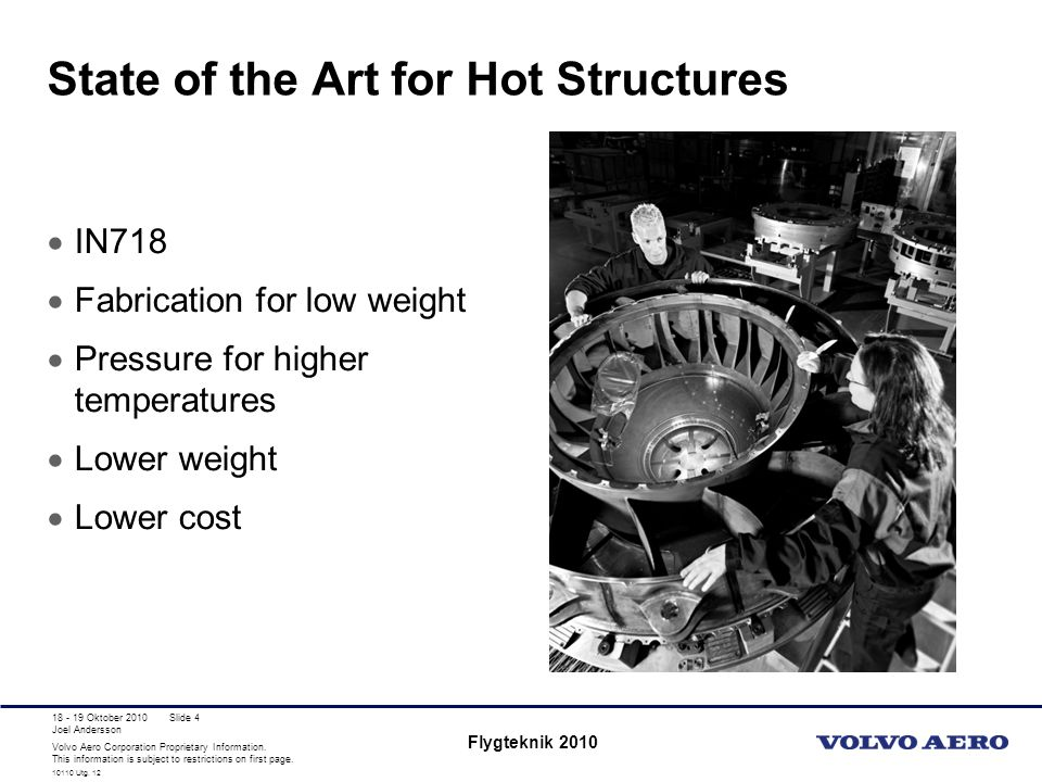 State of the Art for Hot Structures