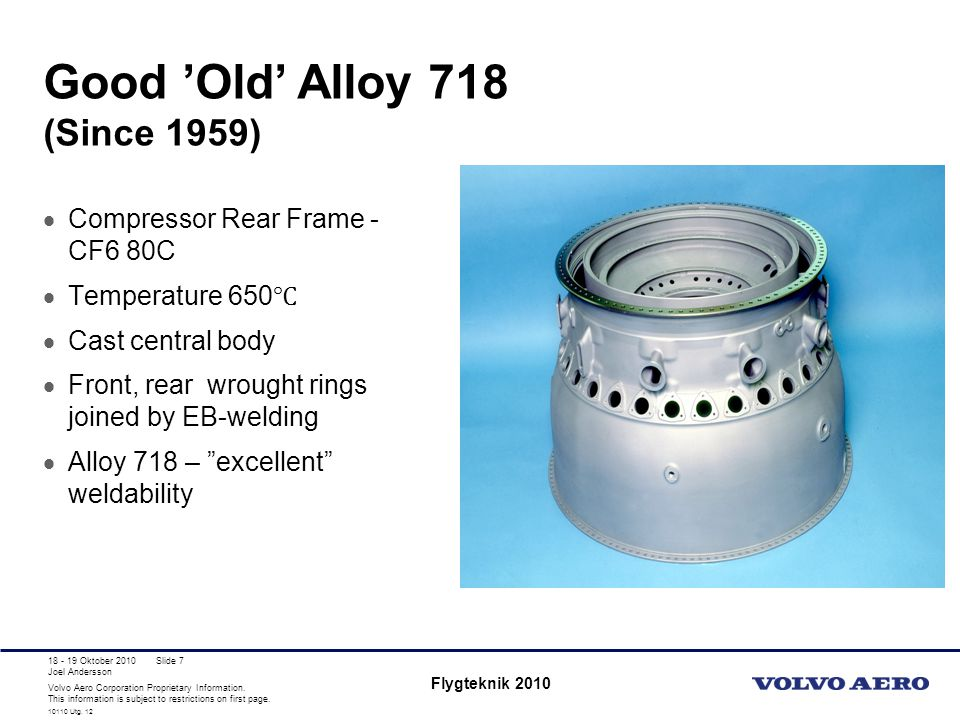 Good 'Old' Alloy 718 (Since 1959)