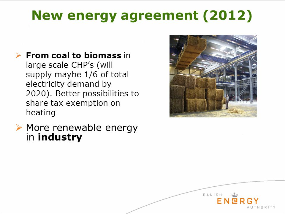 New energy agreement (2012)