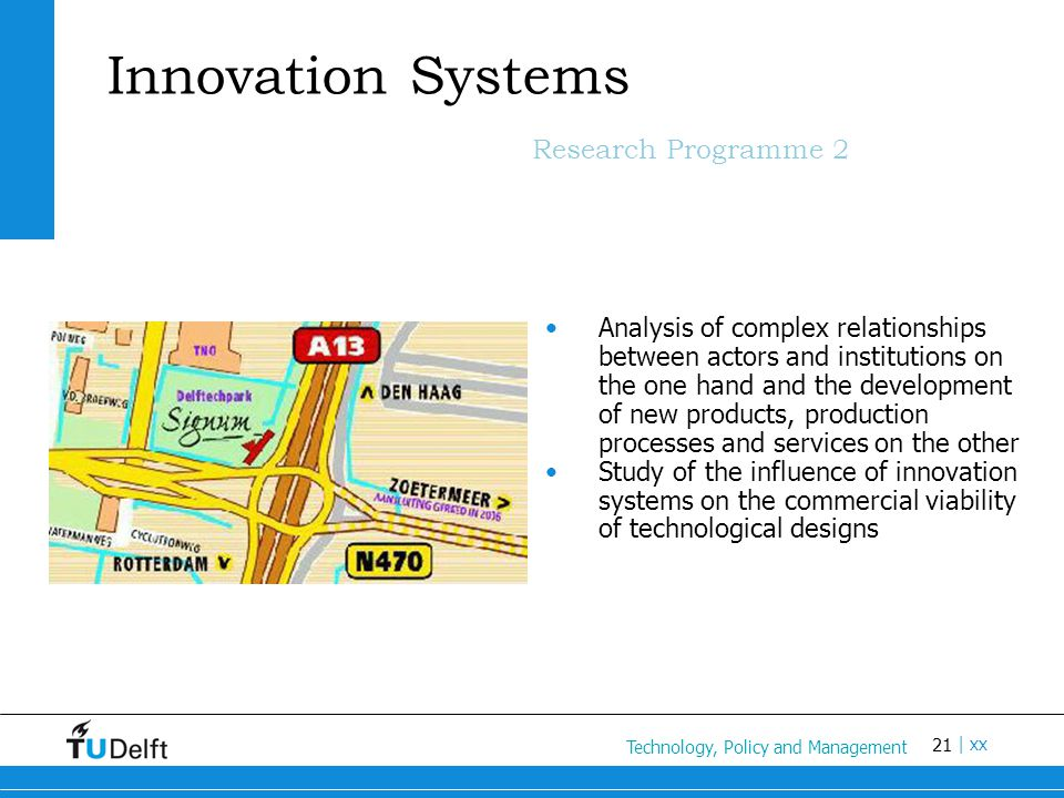 Innovation Systems Research Programme 2