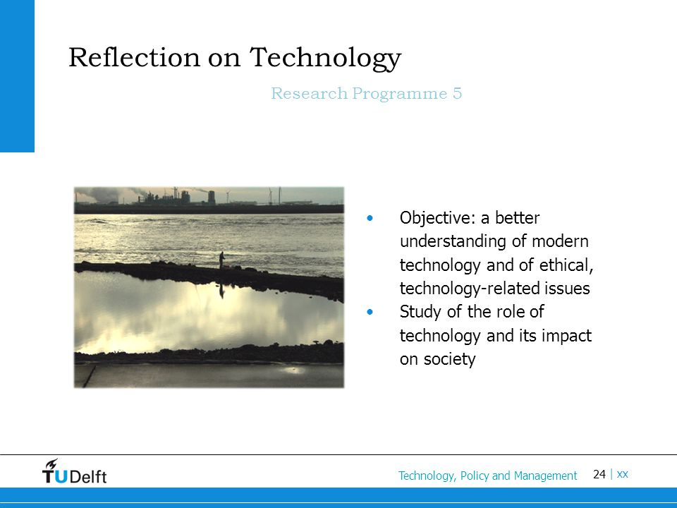 Reflection on Technology Research Programme 5