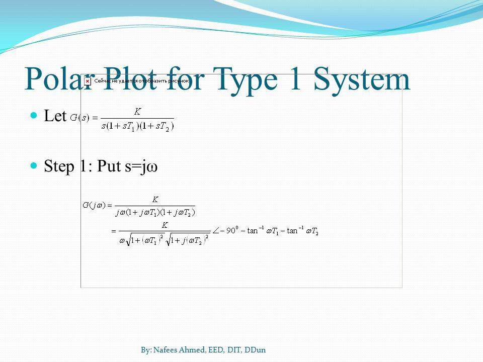 Polar Plot for Type 1 System