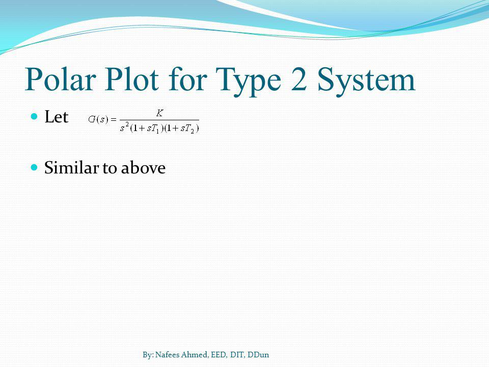 Polar Plot for Type 2 System