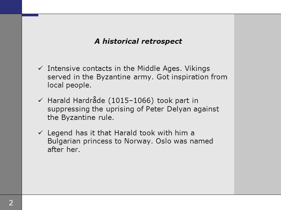 A historical retrospect