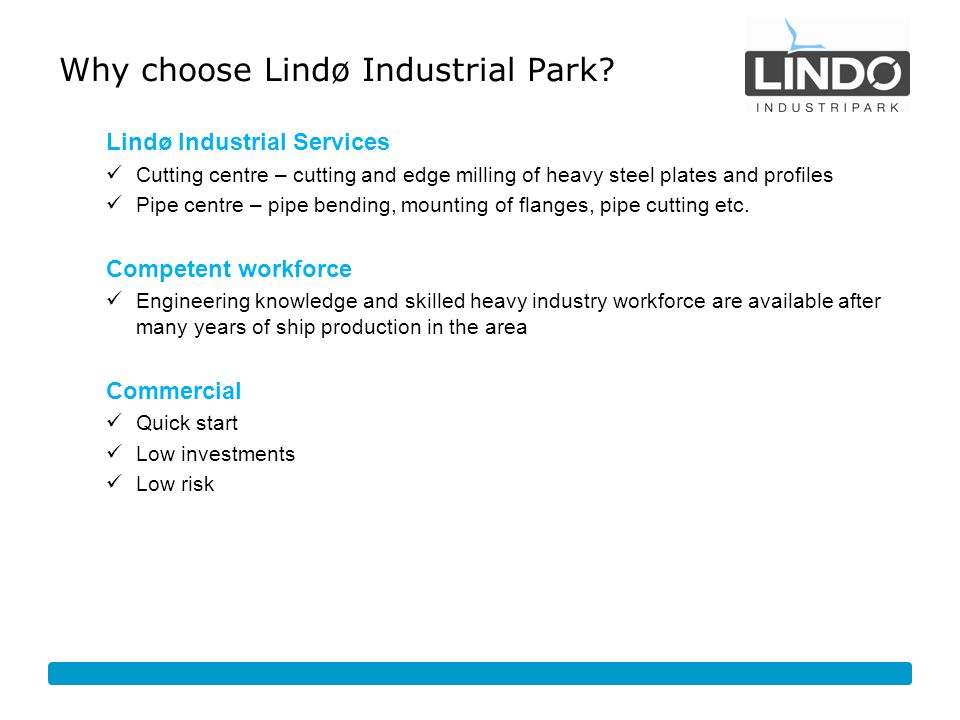 Why choose Lindø Industrial Park
