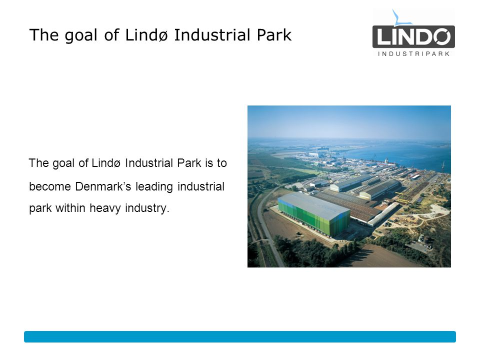 The goal of Lindø Industrial Park