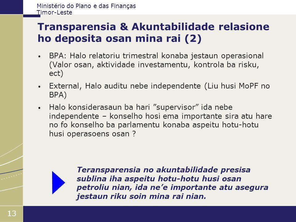 Transparensia & Akuntabilidade relasione ho deposita osan mina rai (2)