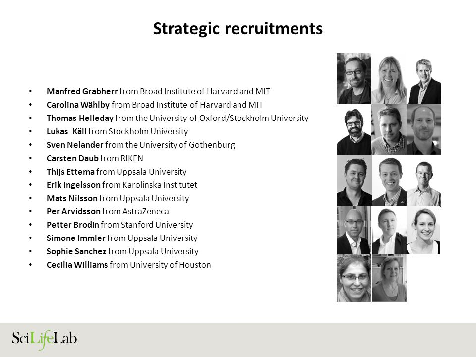 Strategic recruitments