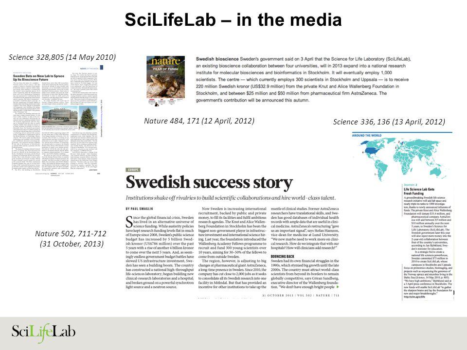 SciLifeLab – in the media