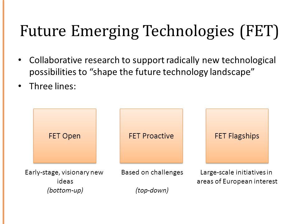 Future Emerging Technologies (FET)