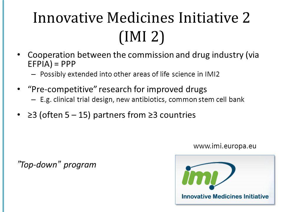 Innovative Medicines Initiative 2 (IMI 2)