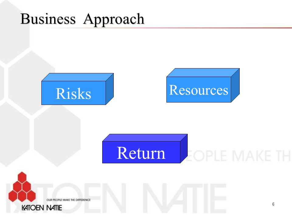 Business Approach Resources Risks Return