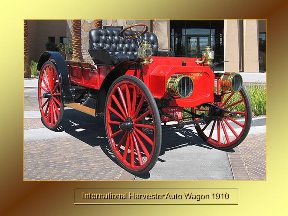 International Harvester Auto Wagon 1910