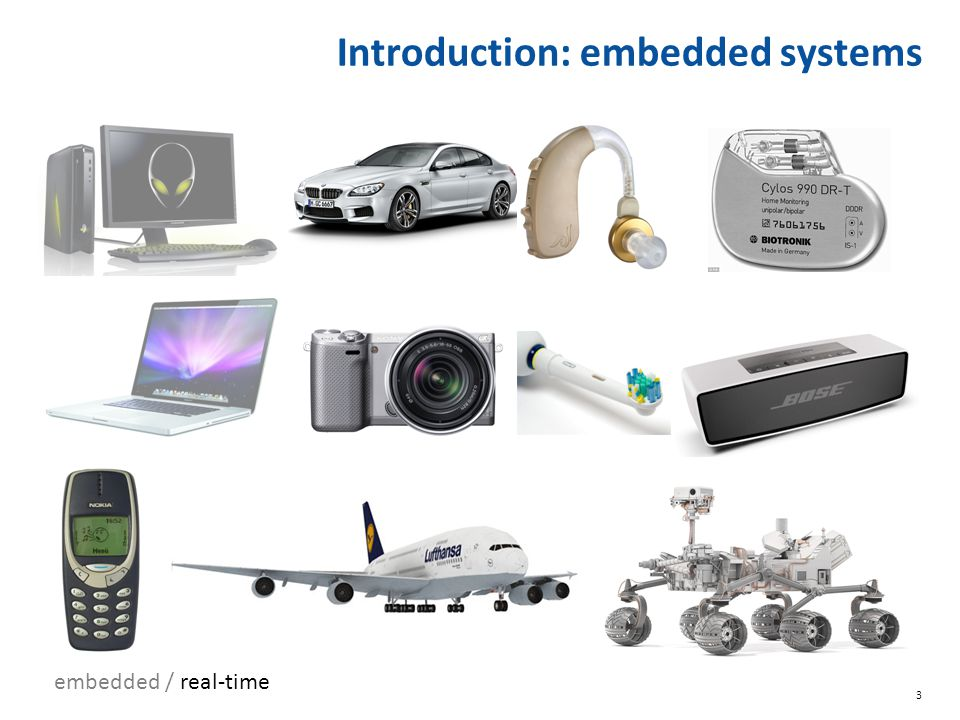 Introduction: embedded systems